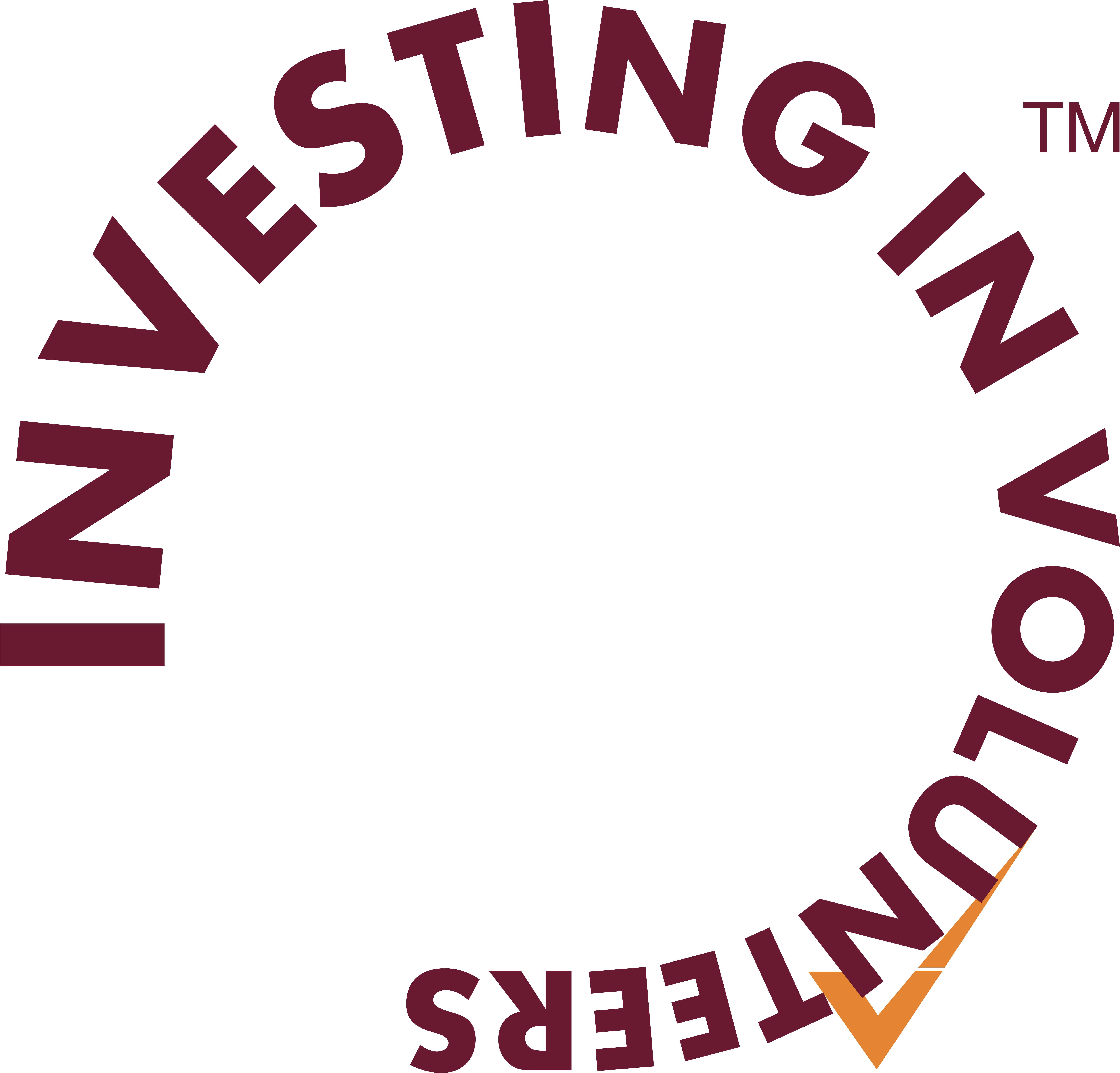 Investing in Volunteers logo